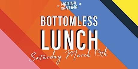 Marina Cantina Bottomless lunch tickets