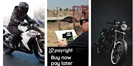 Braaap Motorcycle Dealership - Motorcycle Pickup tickets
