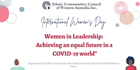 ECCWA celebrating International Women's Day 2021 tickets