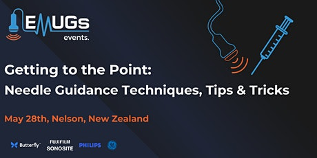 Getting to the Point - Needle Guidance Techniques, Tips and Tricks tickets