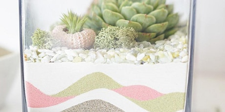 Sand Art Succulent Terrarium: St. Patty's Or Spring Theme tickets