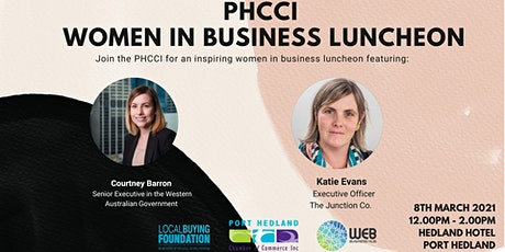 Port Hedland Chamber of Commerce - Women in Business Luncheon tickets