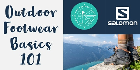 Outdoor Footwear Basics 101 with Salomon tickets