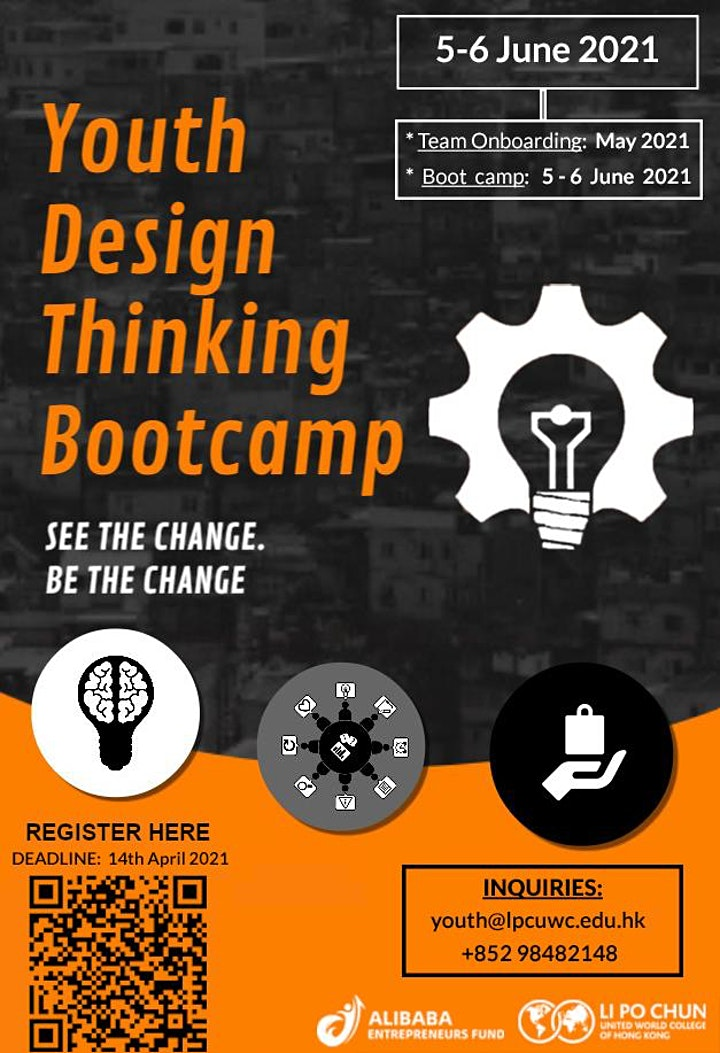 AEF|LPCUWC present: Youth Design Thinking Bootcamp image