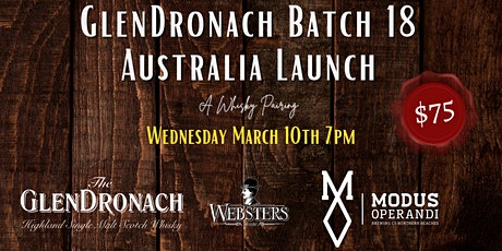 A Whisky Pairing at Websters - March 10th 7PM tickets
