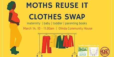 MotHs Reuse it Clothes Swap tickets