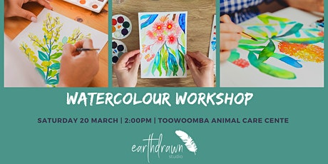 Watercolour Workshop by Earthdrawn Studio tickets