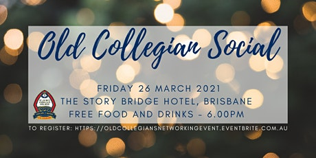 Old Collegians' Social Event tickets