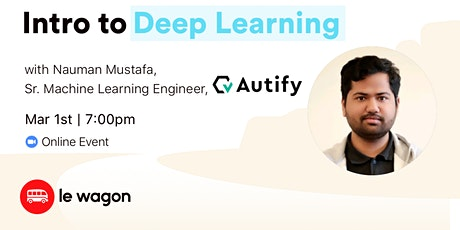 Intro to Deep Learning - Online Workshop tickets