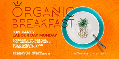 Organic Breakfast Labour Day Party tickets
