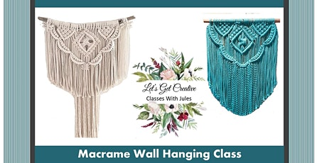 Macrame Wall Hanging Class tickets
