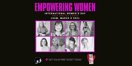 EMPOWERING WOMEN- Yes you can! tickets
