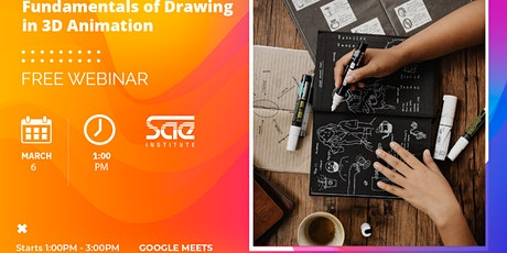 Fundamentals of Drawing in 3D Animation - FREE webinar tickets