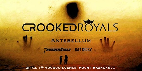Crooked Royals - North Island Tour NZ (Mount Maunganui) tickets