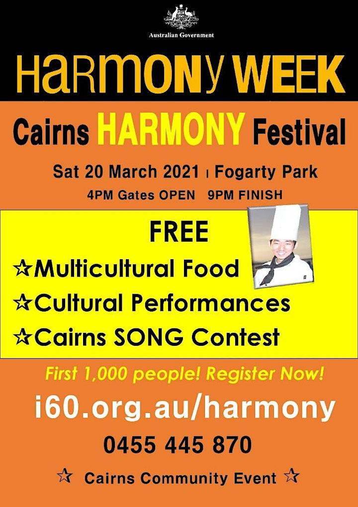 Cairns HARMONY Festival image