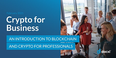 Intro to Cryptocurrency and Blockchain for Professional. tickets