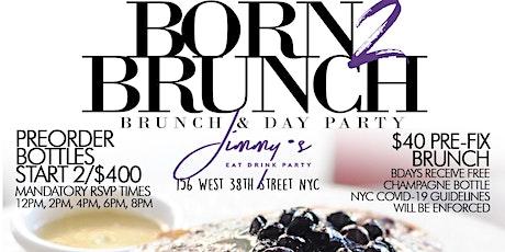 Sunday 2hr Open Bar Brunch, Bdays FREE Shot x Champagne Bottle tickets