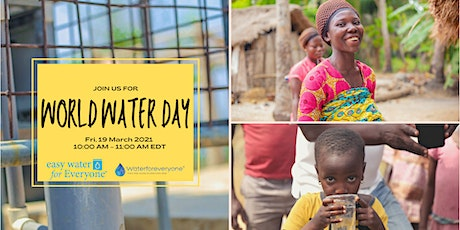 World Water Day 2021 tickets
