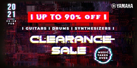 Yamaha Clearance Sale 2021 tickets