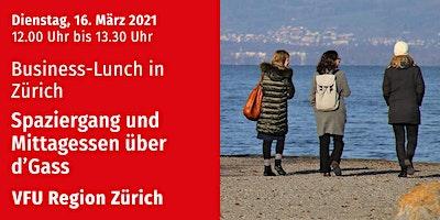 Business-Lunch, Zürich-City, 16.03.2021