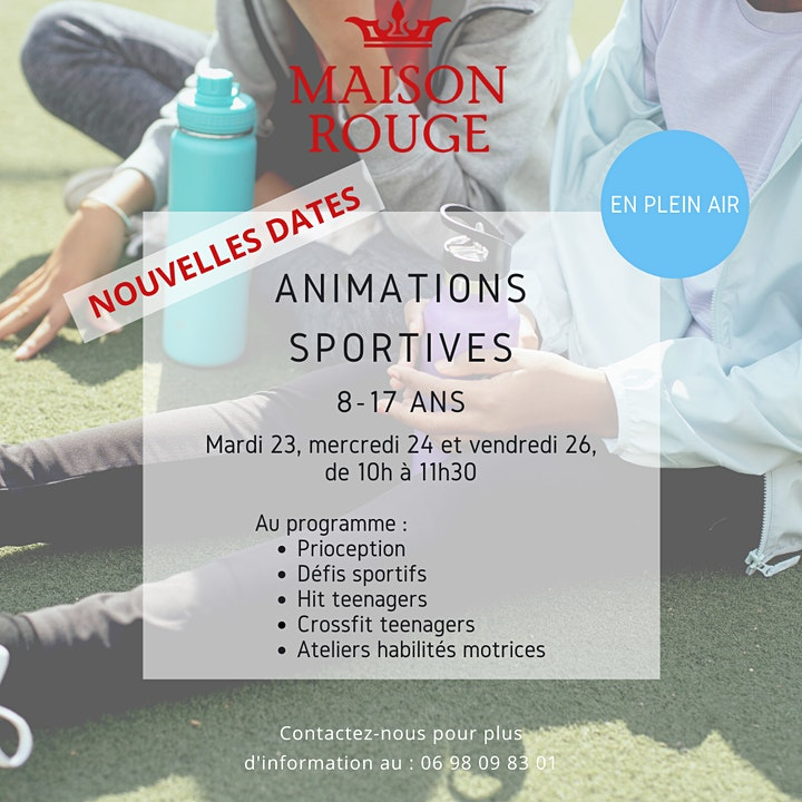 Image pour Animations sportives - 8-17ans