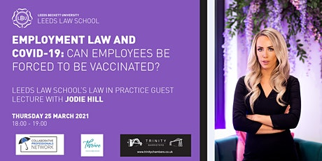 Employment law and Covid-19: Can employees be forced to be vaccinated? tickets