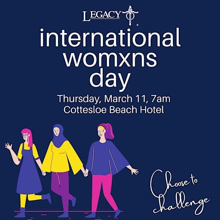 International Womens Day with Legacy WA image