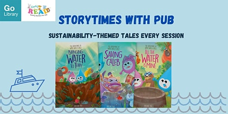 Storytime with PUB for 4-6 years old @ Woodlands Library | Early Read tickets