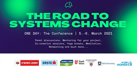 ONE DAY: The Conference 2021 - The road to systems change tickets