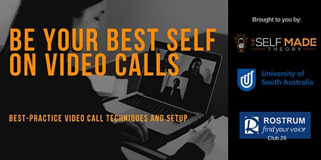 Be Your Best Self on Video Calls tickets