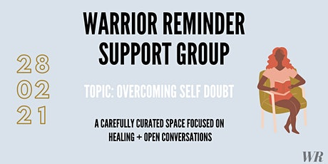 Overcoming Self-Doubt Support Group tickets