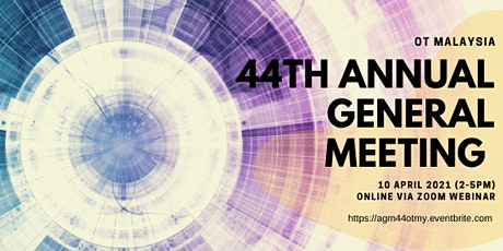 44th Annual General Meeting (AGM) - OT tickets
