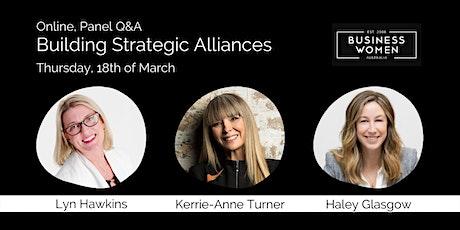Online, Panel Q&A: Building Strategic Alliances tickets