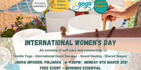 International Women's Day - An Evening of Self Care tickets