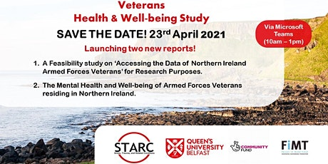 Northern Ireland Veterans Health & Wellbeing Study - Reports Release tickets