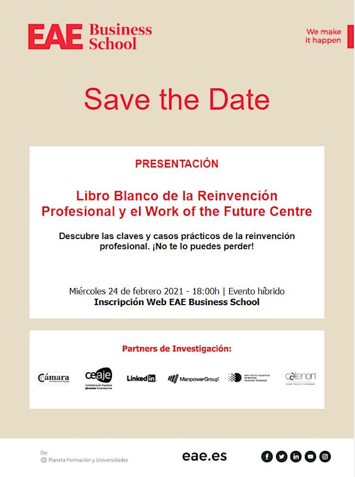 Presentación Work of the Future Centre y Libro de la Reinvención Profesiona image