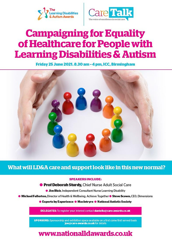 Learning Disabilities and Autism Annual Conference 2021 image