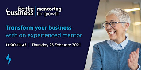 Transform your business with an experienced mentor tickets