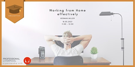 PL Education: Working from Home Effectively - Herman Miller tickets