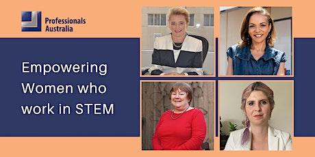 Empowering women who work in STEM tickets