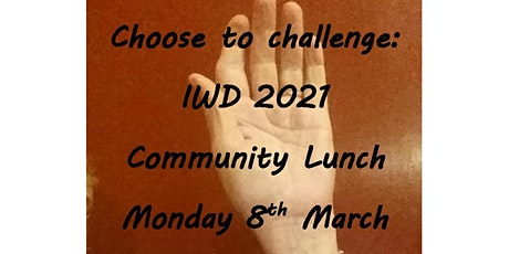 International Women's Day:  Orange Community Lunch tickets