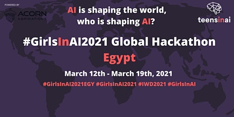 #GirlsInAI2021 Hackathon – Egypt/Cairo tickets