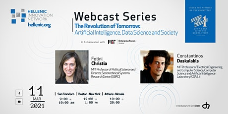 Revolution of Tomorrow: Artificial Intelligence, Data Science and Society tickets
