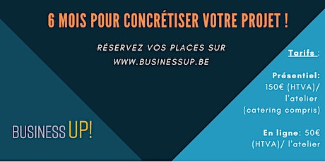 Ateliers Business UP au TRAC à Auderghem tickets