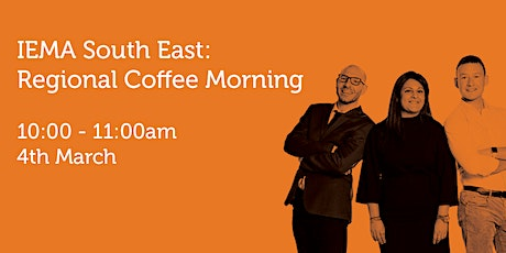 SE040321 South East Regional Coffee Morning: Reconnecting tickets