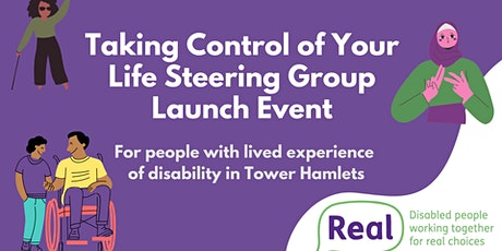 Taking Control of Your Life Steering Group Launch tickets