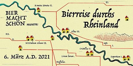 Bierreise durchs Rheinland Tickets