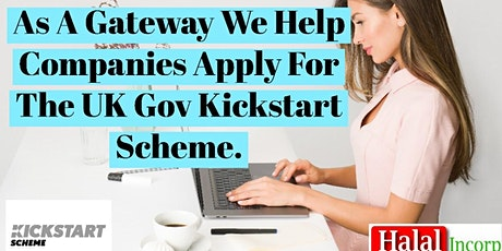 Apply For The UK Gov Kickstart Scheme tickets
