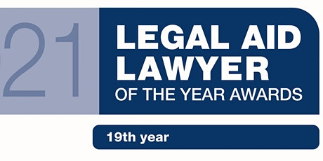 The 2021 Virtual Legal Aid Lawyer of the Year Awards Tickets