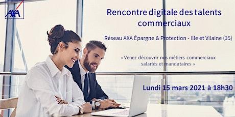 Rencontre digitale des talents commerciaux Epargne & Protection biglietti